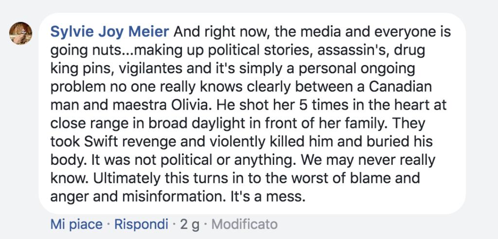 il delirio dei media sull'omicidio Arevalo Lomas